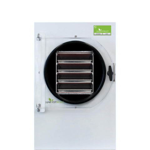 Image of Harvest Right Medium White Home Freeze Dryer w/110v Oil Pump-HRFD-MEDIUMWH-westtradinghouse.com