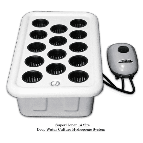 Image of SuperCloner 14-Site Hydroponic ClonerSuperCloner 14-westtradinghouse.com