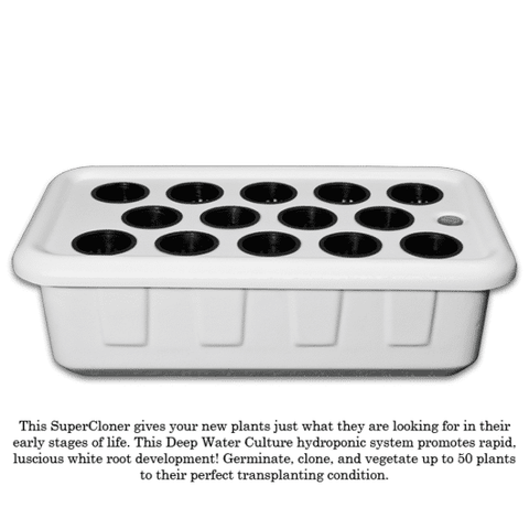 Image of SuperCloner 14-Site Hydroponic Cloner-SuperPonics-SuperCloner 14-westtradinghouse.com