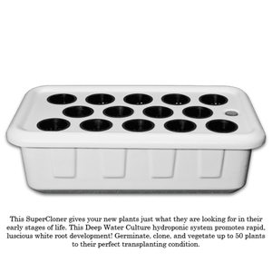 SuperCloner 14-Site Hydroponic Cloner-SuperPonics-SuperCloner 14-westtradinghouse.com