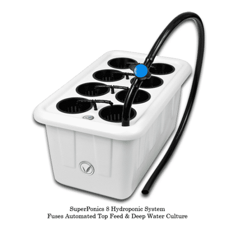 Superponic 8 Site Hydroponic System-SuperPonic 8-westtradinghouse.com