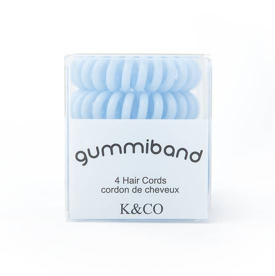 GummiBand Hair Cords - You Blue Me Away