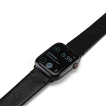 The Watch Band | Jet Black & Black | 42/44mm
