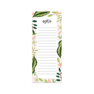 Leaves Note Pad