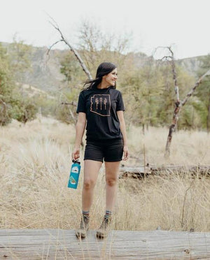 Arizona Wilderness Unisex Tee | Black & Copper