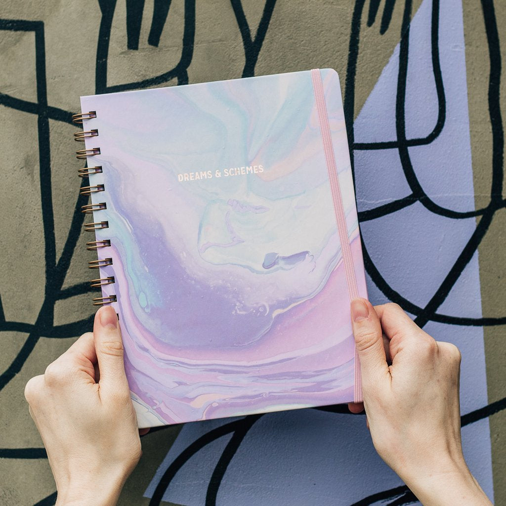 Dreams & Schemes Undated Planner