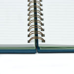 Join The Movement Spiral Notebook (M) | Navy