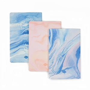 Marble Dreams Notebook 3-Pack | Blank