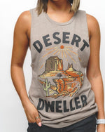 Desert Dweller Muscle Tank | Dust