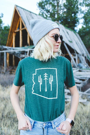 Arizona Wilderness Unisex Tee | Forest