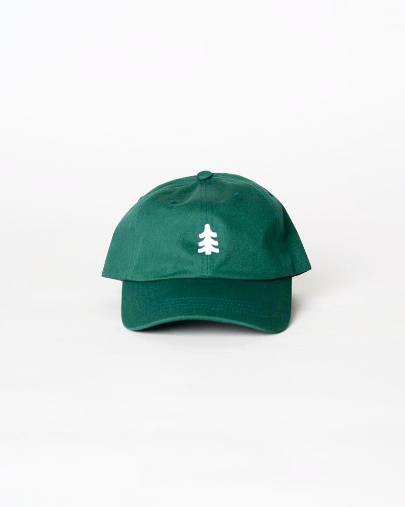 Mighty Pine Dad Hat | Forest Green
