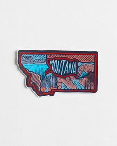 Montana Love Sticker