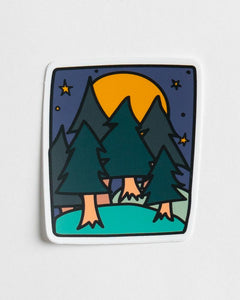 Forest Nights Sticker