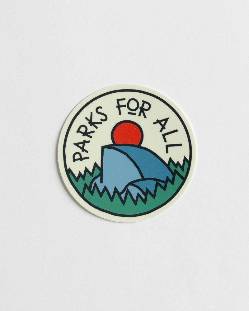 Parks For All Sticker
