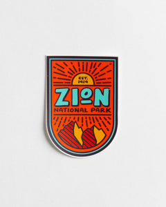 Zion National Park | Sticker