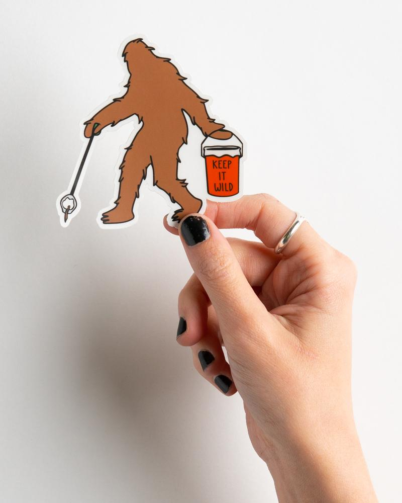Sasquatch Sticker