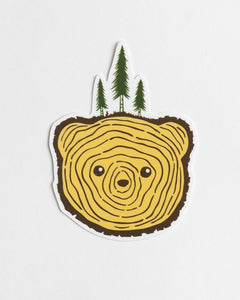 Bear Tree Sticker