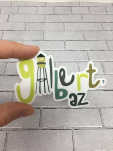 Gilbert Sticker