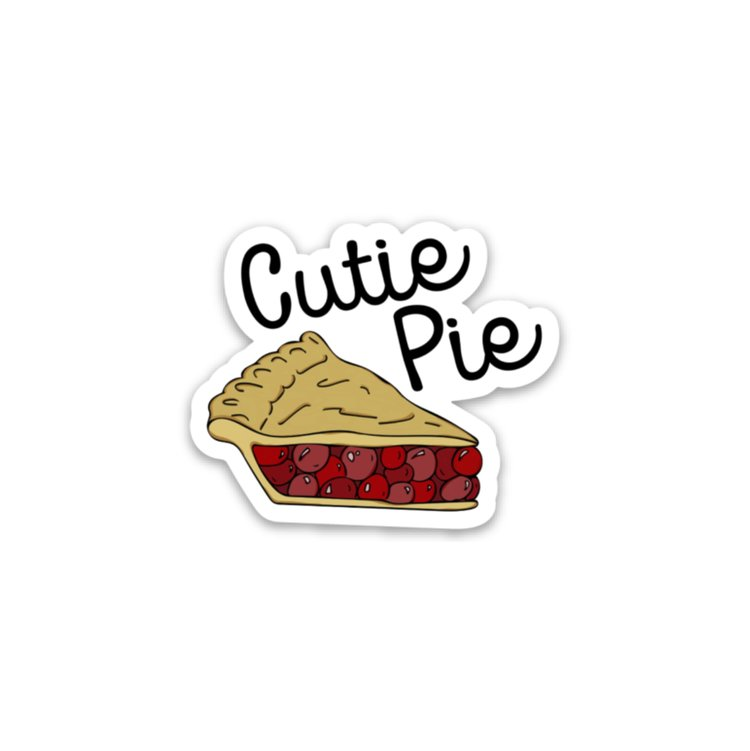 Cutie Pie Sticker