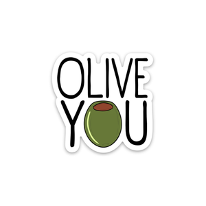 Olive You Sticker