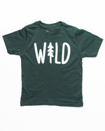 Wild Pine Youth Tee | Forest