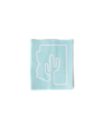 Arizona Outline Decal | White