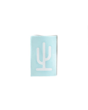 Saguaro Arizona Decal | White
