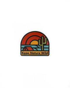 Keep The Desert Wild Sticker