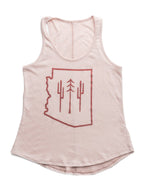 Arizona Wilderness Women's Racerback Tank | Pink Cloud