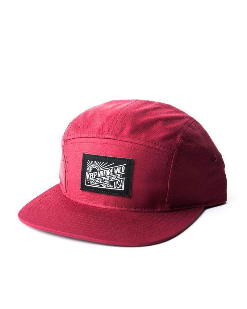 KNW Camp Hat | Maroon