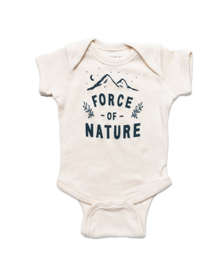 Force Of Nature Onesie | Natural