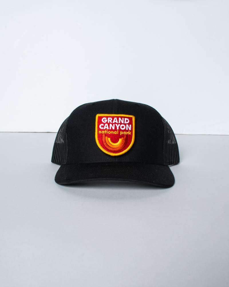 GC Vibes Retro Trucker Hat | Black