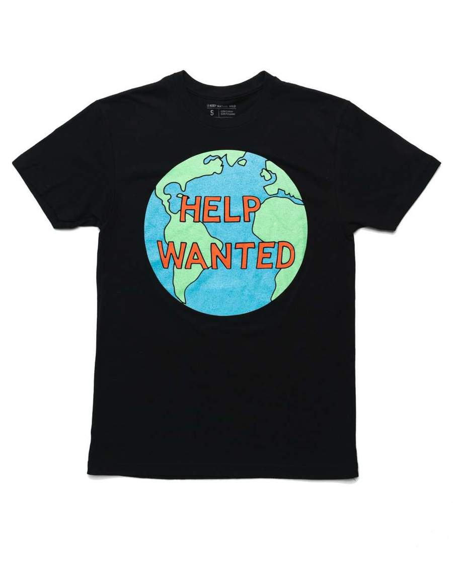 Help Wanted Unisex Tee | Black