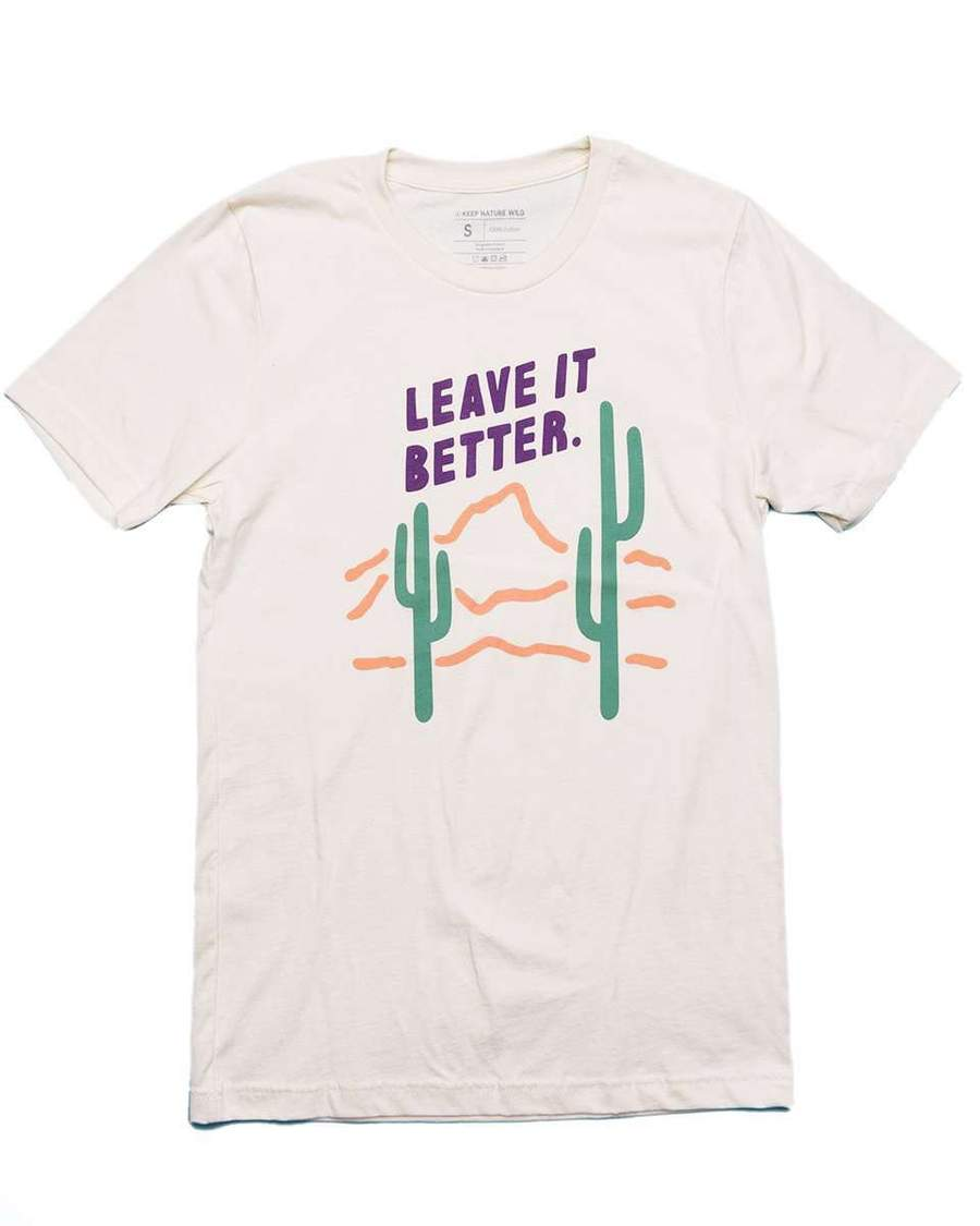 Leave It Better Unisex Tee | Cream