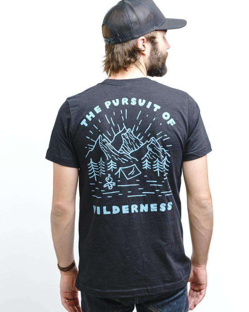 Pursuit of Wilderness Unisex Tee | Moonlight