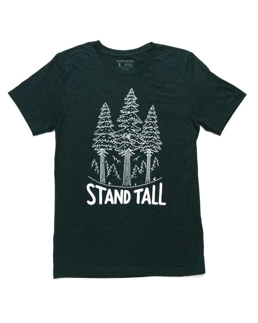 Stand Tall Pine Unisex Tee | Emerald