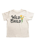 Wild Child Toddler Tee | Natural