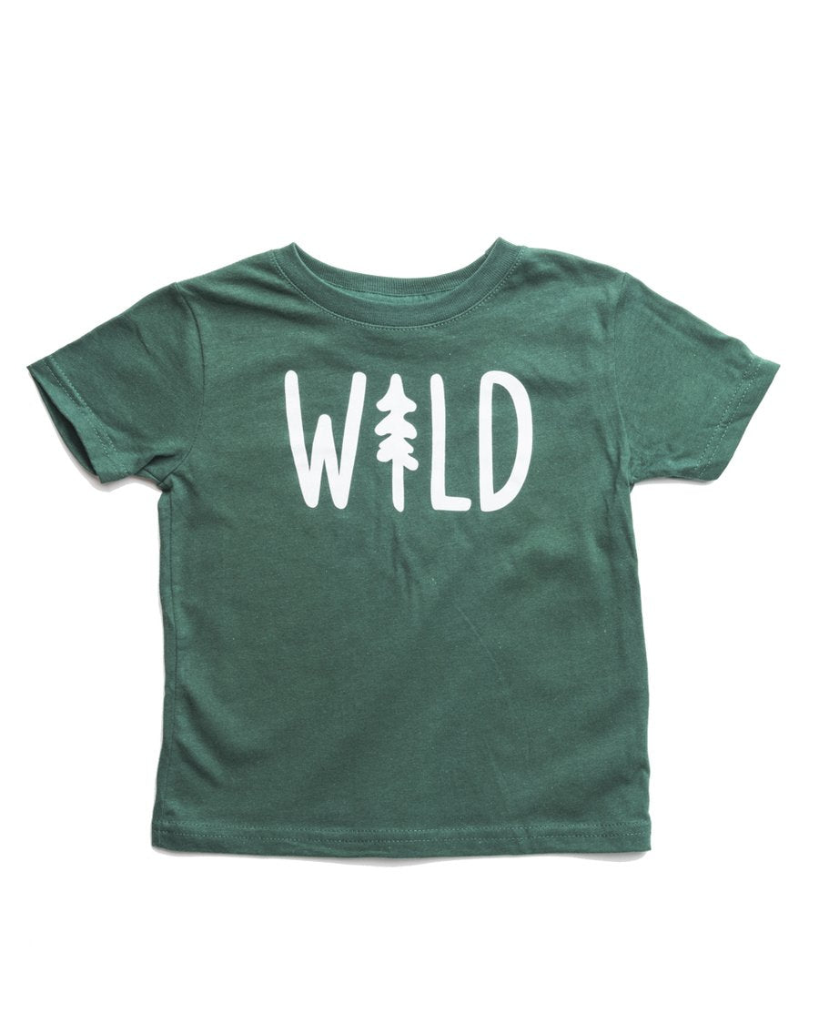Wild Pine Toddler Tee | Forest
