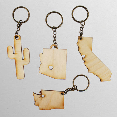 California Keychain