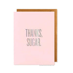 Thanks Sugar Card