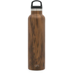 Ascent Water Bottle | Wood Grain