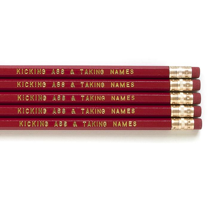 Kick Ass Pencil Set