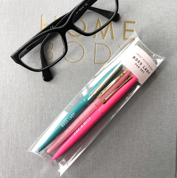 Boss Lady Pen Set