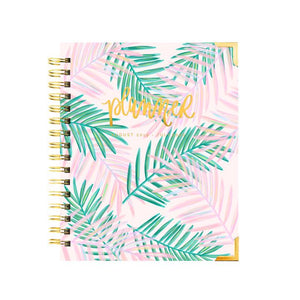 Palms Tropical Pink Planner | Aug 2019 - July 2020