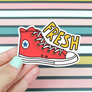 Fresh Shoes Sticker