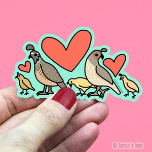 Little Quail Sticker