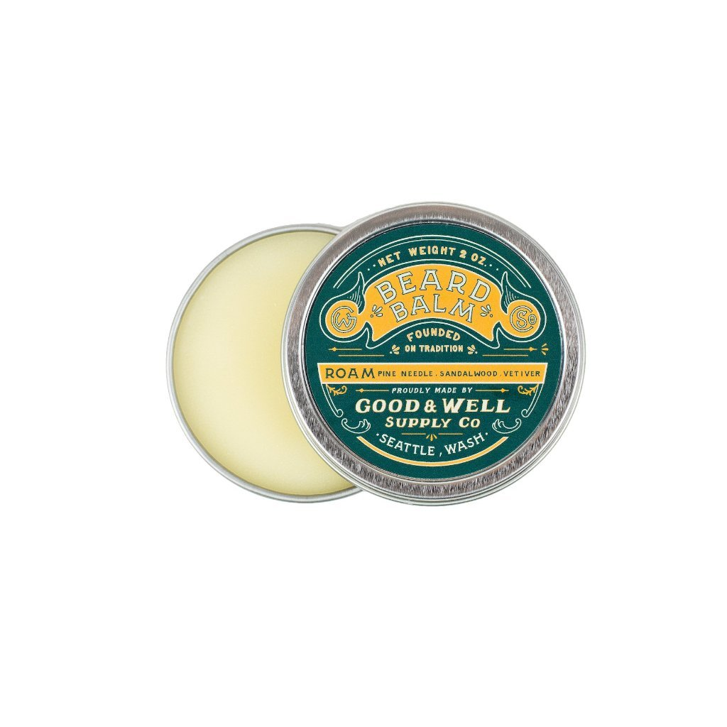 ROAM Beard Balm | pine, sandalwood + vetiver