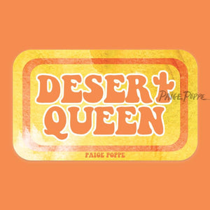 Desert Queen Sticker