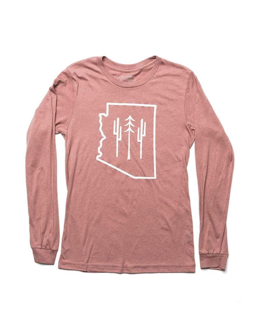 Arizona wilderness Long Sleeve| mauve