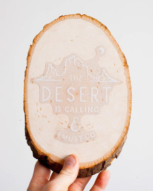 The Desert is Calling | Clear Sticker - Keep It Wild
